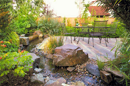 Diy garden path ideas sunset magazine backyard designs